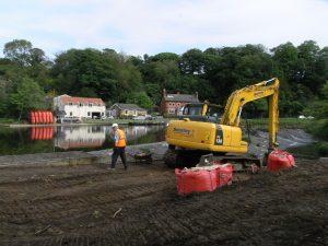 Preparing site