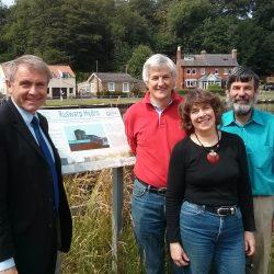 Visit from Robert Goodwill MP